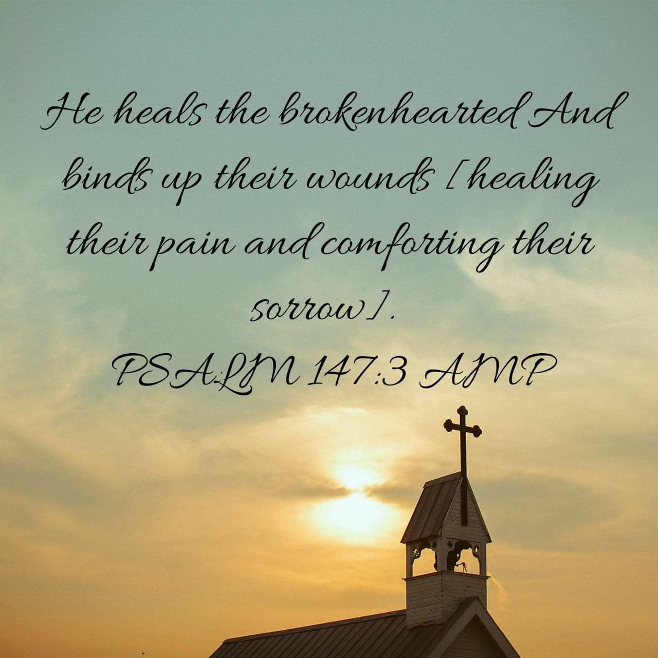 Day 5 & 6 – Thankful for Healing of the Brokenhearted
