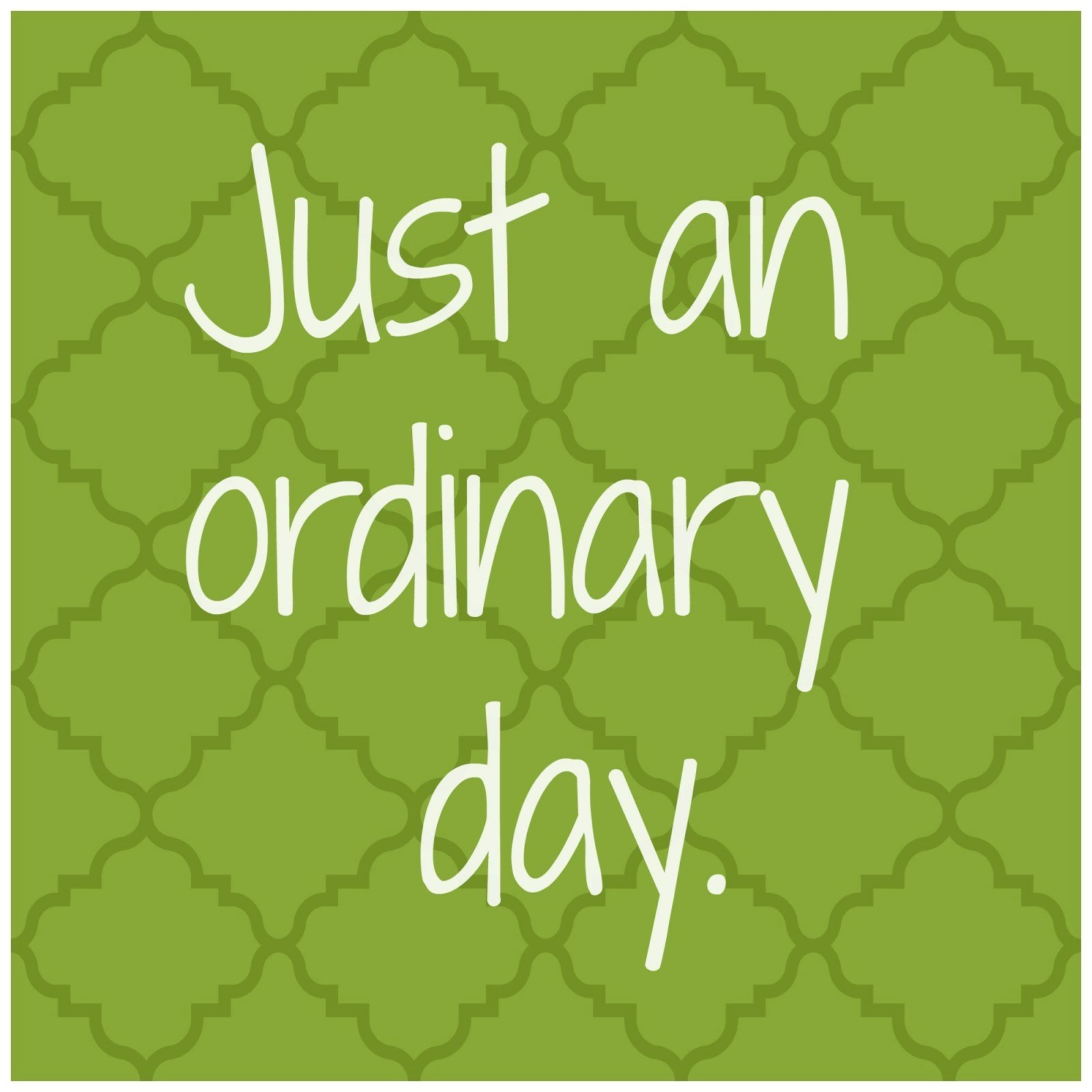 Day 7,8 & 9- Ordinary Assignments Extraordinary Outcomes